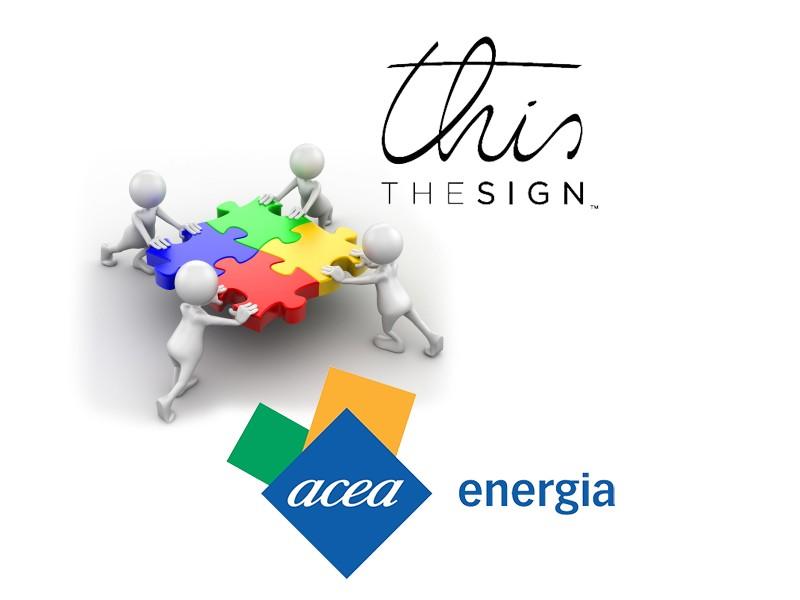 ACEA energia e THIS THESIGN, collaborazione per il catalogo premi ACEA con Te 2015/2016